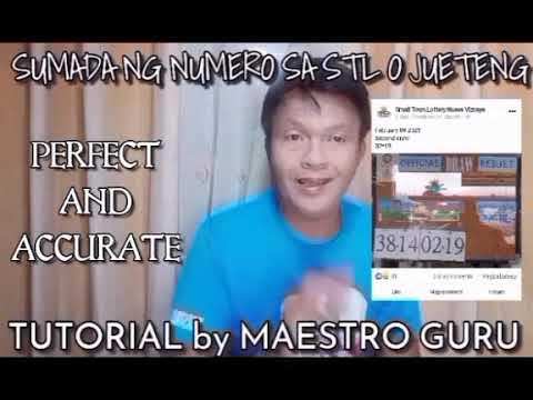 Download SUMADA NG POSIBLENG LABAS NA NUMERO SA STL O JUETENG: TUTORIAL / MAESTRO GURU