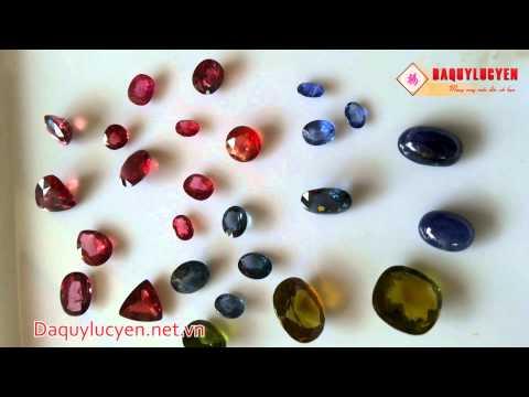 Một số mặt nhẫn bằng đá quý Lục Yên - Ruby Lục Yên