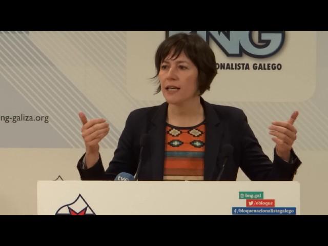 """Ana Pontón: """"Este 17 de maio ten que ser o inicio dun cambio de rumbo na política de normalización"""""""