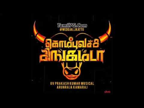 கொம்பு வச்ச சிங்கம்டா Kombu Vacha Singam da    GV Prakash jallikattu song   YouTube