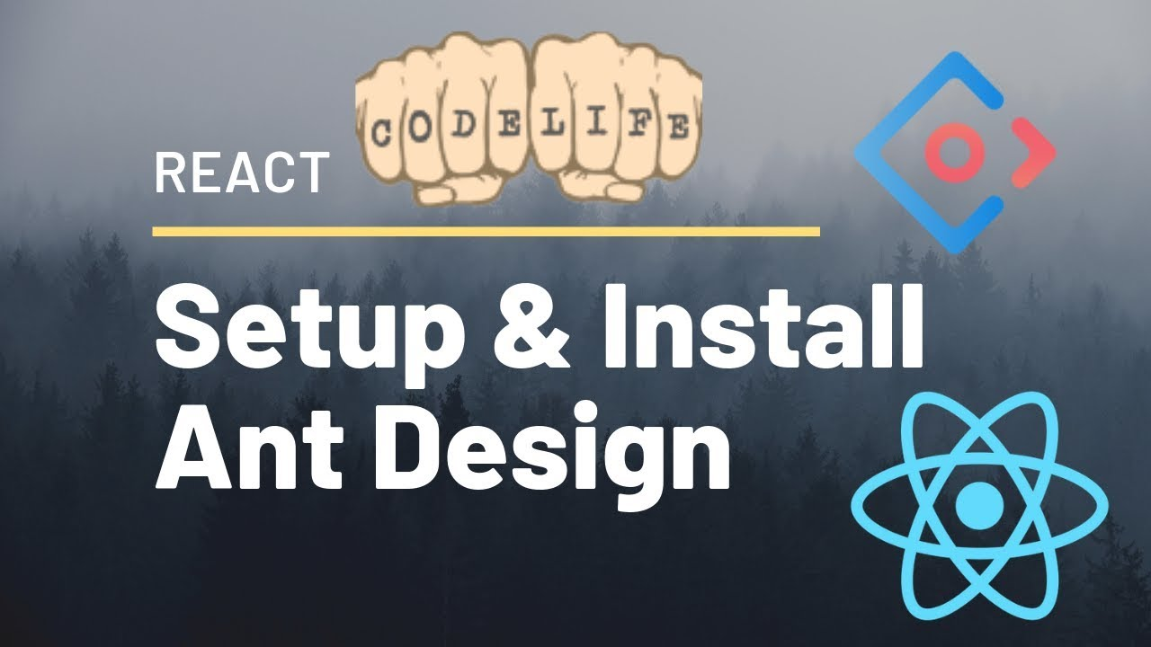 Setup Ant Design - Tutorial to Install Ant Design library / Antd with  Create React App