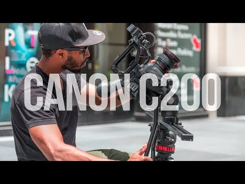 THE CANON C200 POSSIBLY MY NEW FAVORITE CAMERA... | Canon C200 Review