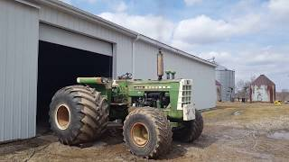 Dyno Day for the Oliver 1755, 1950 and 2050 tractors.