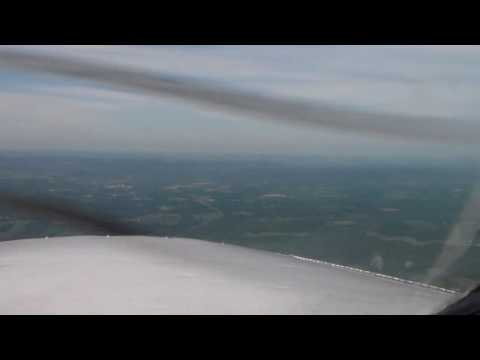 boeing 727 ils landing griffiss ifr return to syracuse(me flying with instructor)