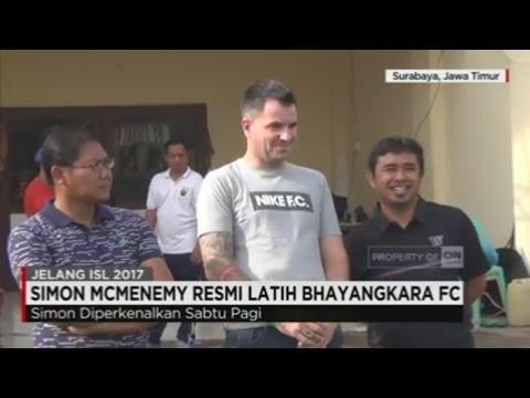 Simon McMenemy Resmi Latih Bhayangkara FC