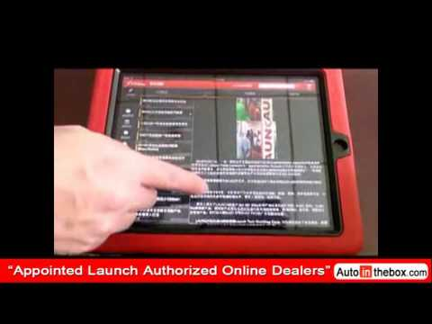 Launch X431 iDiag Auto Diag Scanner for Android, iPad obd2 diagnostic tool