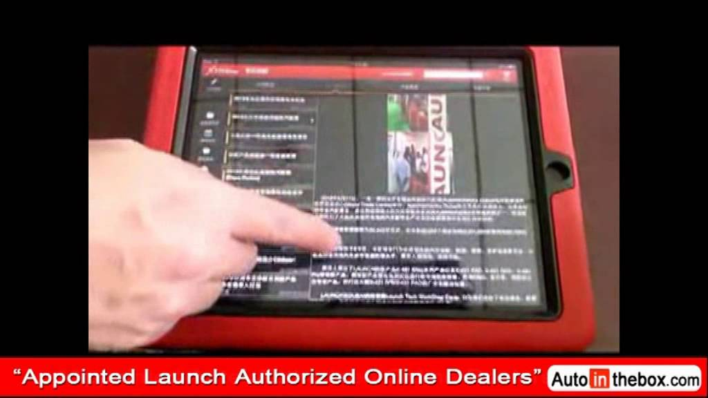 Launch X431 Idiag Auto Diag Scanner For Android Ipad Obd2