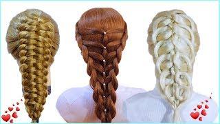 Топ 10 Простые прически💟Как сделать своими руками💟Top 10 Amazing Hairstyles Tutorial Compilation