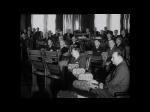 Stortinget gjenopptar arbeidet 1945