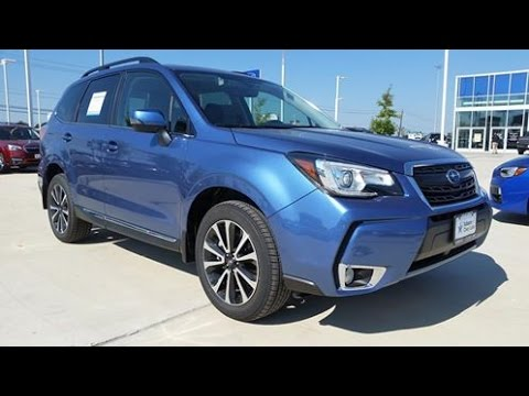2017 Subaru Forester 2 0xt Touring Start Up Full Review