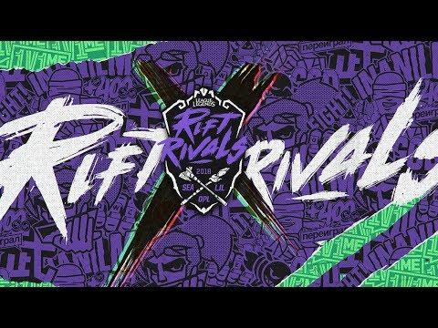 Rift Rivals - Day 1 - DFM v CHF