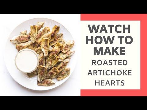 Whole30 + Keto Roasted Artichoke Hearts (From Frozen!)