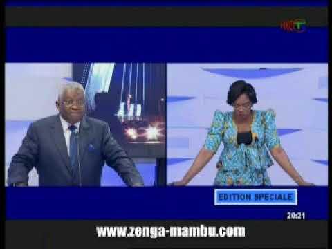 Message de Sassou Nguesso : Réponse de Pascal Tsaty Mabiala au 20 heures de Télé Congo