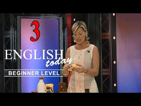 Learn English Conversation - English Today Beginner Level 3