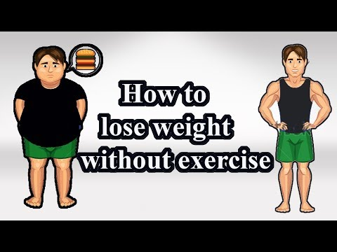 How to lose weight fast without exercise | 3 smart ideas to lose weight without exercise