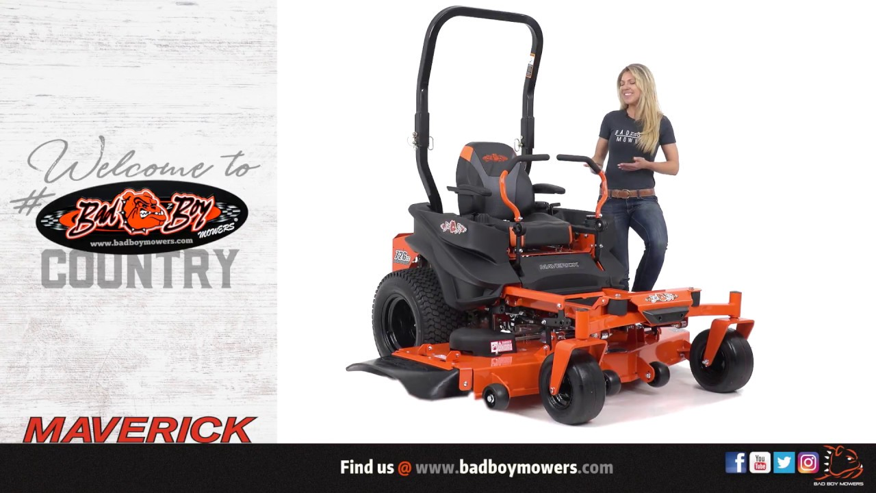 Bad Boy Mowers - 2018 Maverick EZ Ride System