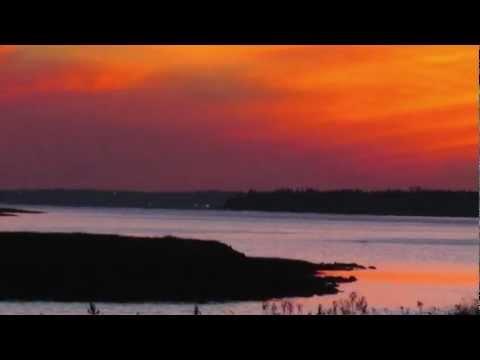 Sunset in Annapolis Royal, Nova Scotia