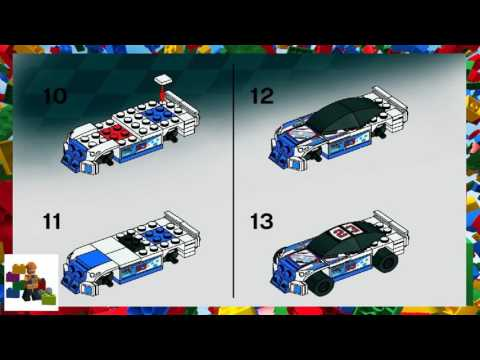 LEGO instructions - Racers - 8125 - Thunder Raceway