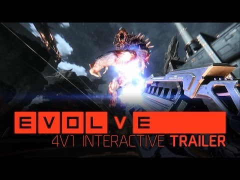 Evolve –– 4v1 Interactive Trailer