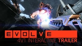 Evolve –– 4v1 Interactive Trailer
