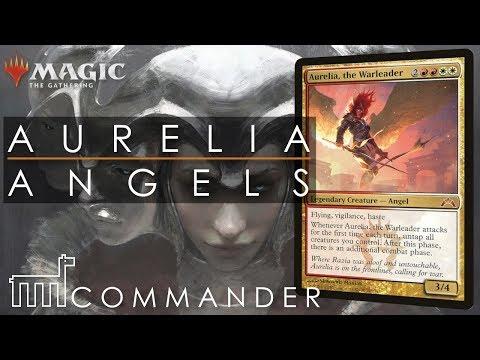 COMMANDER | Aurelia the Warleader – Angel Tribal | DECK TECH + GAMEPLAY | MtG