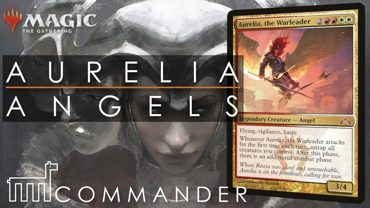 COMMANDER | Aurelia the Warleader - Angel Tribal | DECK ...