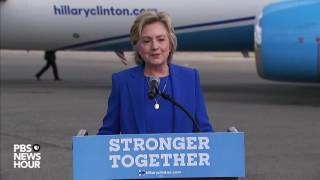 Watch full Hillary Clinton remarks from White Plains airport