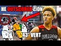 """Meet The Player With a 43"""" VERTICAL Who OUTSCORED Zion Williamson (Ft Romeo Langford, NBA Wingspan)"""