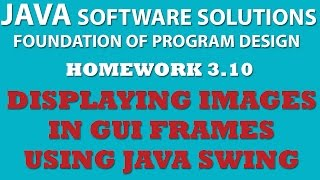 3-10 Java Swing: Frames, Panels, Labels, Images