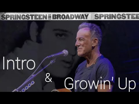 Springsteen On Broadway - Growin' Up with Intro Mp3