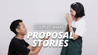 Couples Share Their Proposal Stories
