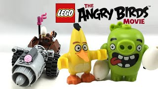 LEGO Angry Birds Movie Piggy Car Escape set review! 75821