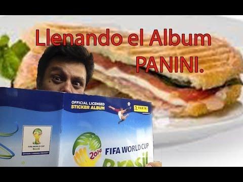 Llenando el Album del Mundial Panini