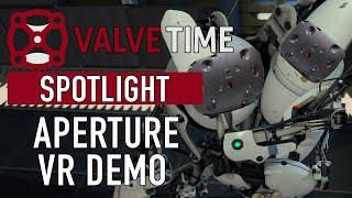 De Aperture VR-demo