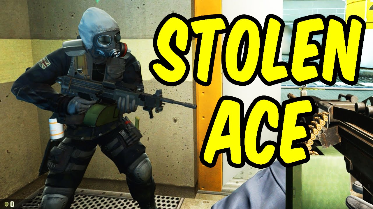 STOLEN ACE - CSGO Funny Moments - YouTube