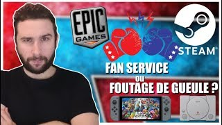 FAN SERVICE ou FOUTAGE DE GUEULE ? 😱🧐 Playstation Classic, STEAM vs EPIC GAMES & NEWS SWITCH !!