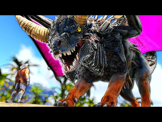 This DRAGON-KAIJU HYBRID is Absolutely Terrifying! | ARK Survival Evolved PUGNACIA #40