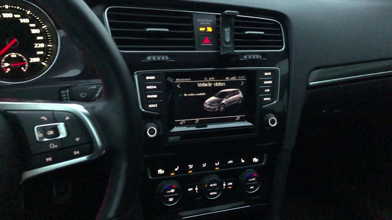 2015 VW MK7 GTI MIB 1 Composition Media Infotainment Tutorial - Netcruzer  CARS