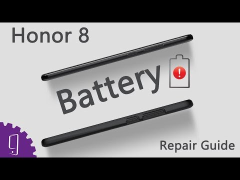 Huawei Honor 8 Battery Repair Guide - YouTube