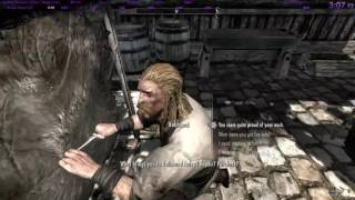 Skyrim Miraak Must Die% speedrun 8:35 world record