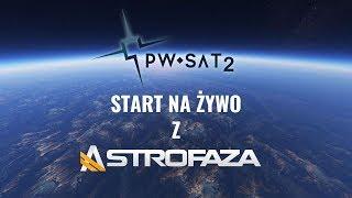 Start Falcona 9 z polskim satelitą PW-SAT2 - Na żywo