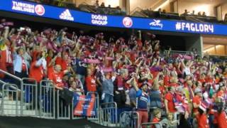 Laboral Kutxa Vitoria Basketball Final Four 2016 Fans