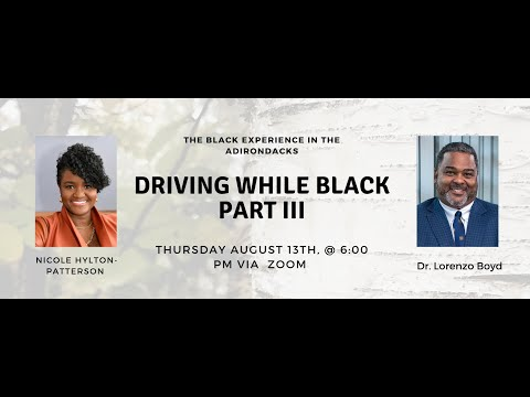 Driving While Black Part III