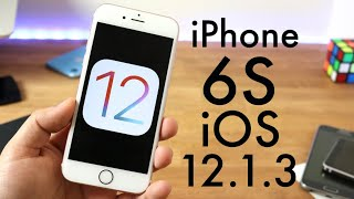 iOS 12.1.3 OFFICIAL On iPHONE 6S! (Review)