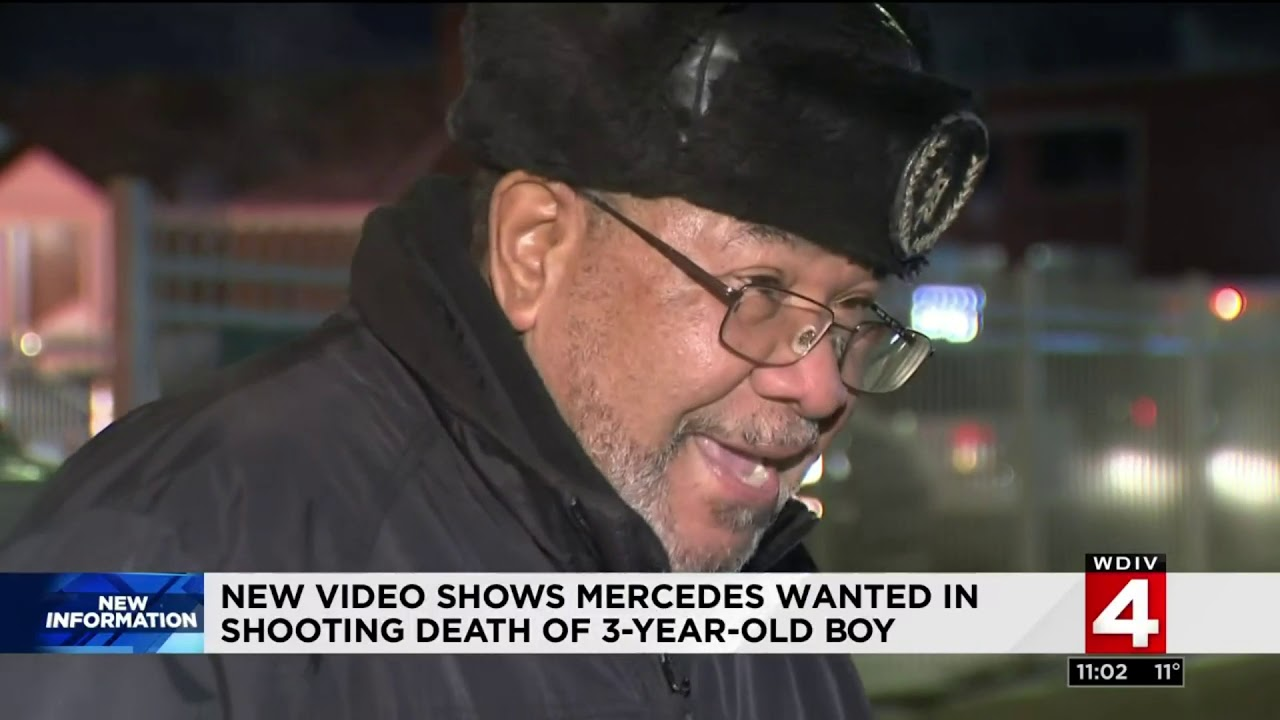New video shows Mercedes wanted in fatal shooting of 3-year-old baby from Detroit