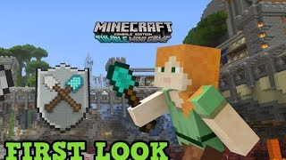 Minecraft Xbox 360 / PS3 TUMBLE Mini Game GAMEPLAY