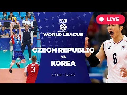 Czech Republic v Korea - Group 2: 2017 FIVB Volleyball World League