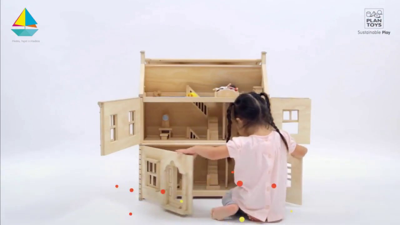 Victorian Doll House De Plan Toys Hd Youtube