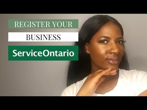 How To Register A Business Name In Ontario 2020 (master License Vs Cra)