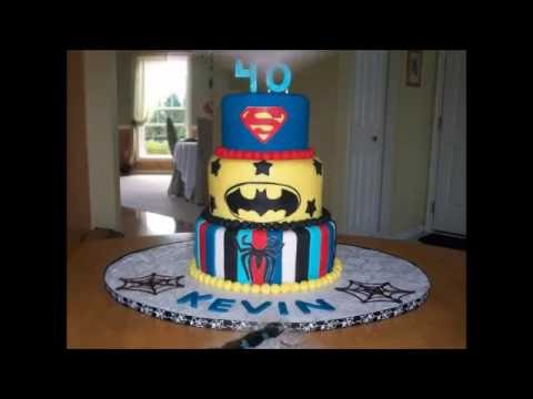 40th Birthday Cake Ideas For Him YouTube